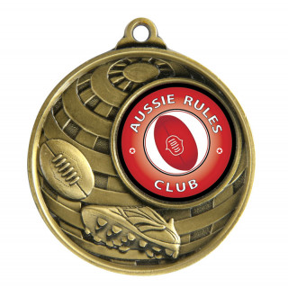 50MM Aussie Rules Global Medal from $4.98