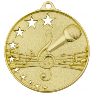 52MM Music Stars Medal from $5.88