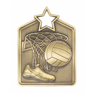 60MM Netball Medal from $5.10