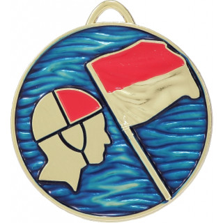 50mm Gold Lifesaving Medal From $6.80