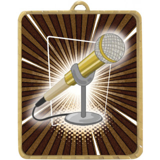 63 x 75MM Microphone Lynx Medal from $7.28